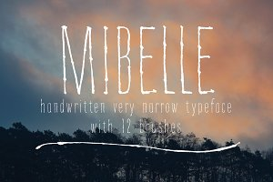 Mibelle Typeface