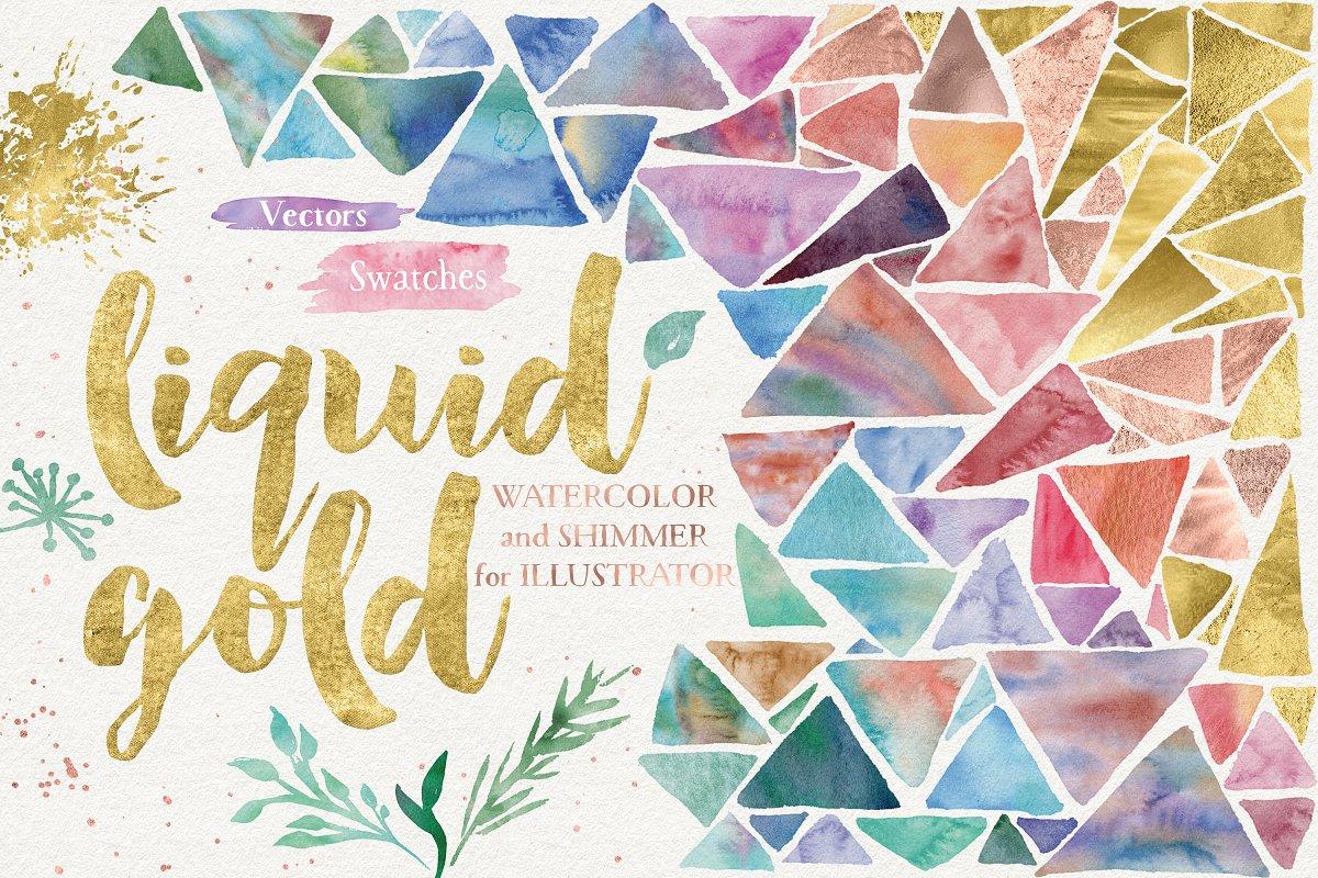 Liquid Gold for Illustrator ~ Illustrator Add-Ons ~ Creative