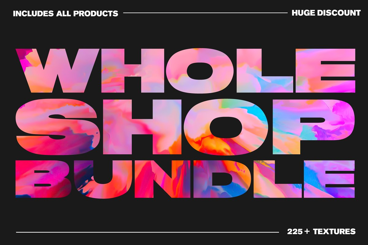 The Whole Shop Bundle - All Products in Textures