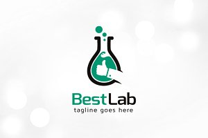 Best Lab Logo Template