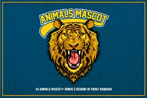 Animals Mascot - 50%OFF ($10)
