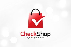 Check Shop Logo Template