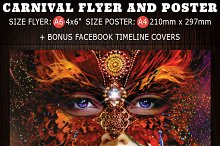 Carnival Flyer Facebook Covers