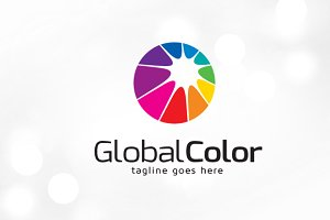 Global Color Logo Template