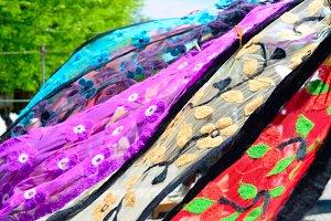 Traditional Georgian shawls