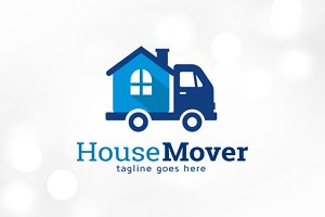 House Mover Logo Template
