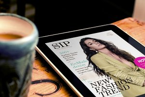 Ipad Magazine Template