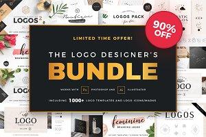 90% OFF - The Logo Designer's Bundle