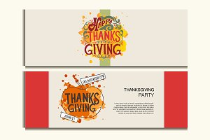 Happy Thanksgiving Invitation