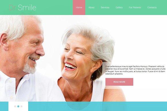 Dr.Smile - Joomla 3 Theme - Joomla