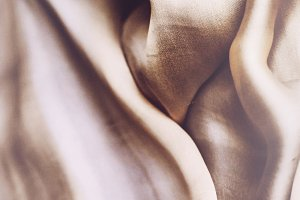 Pure Silk Fabric Abstract Photo