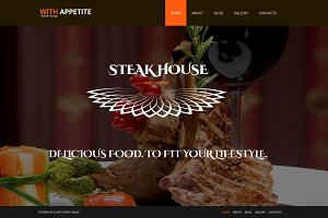 Steak House - Joomla 3 Theme