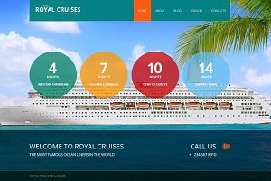 Royal Cruises - Joomla 3 Theme