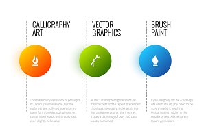 Vector abstract infographic
