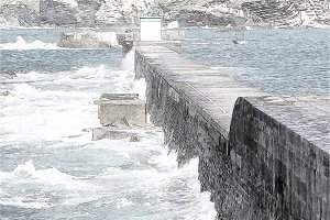 breakwater draw