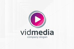 Video Media Logo Template