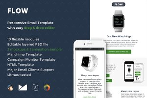 Flow Email Template + Builder