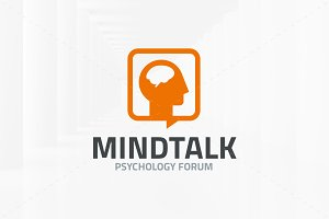 Mind Talk Logo Template