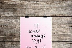 It Was Always You [Digital Download]