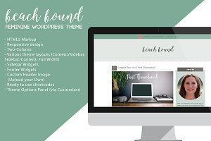Beach Bound - Wordpress Theme