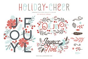Holiday Cheer (Clipart)