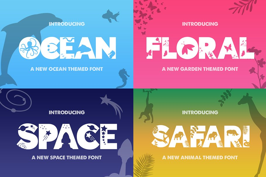 The HUGE Font Bundle (150+ Fonts) in Sans-Serif Fonts - product preview 15