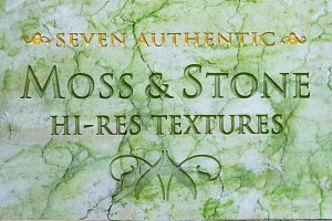 Moss and Stone textures