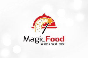 Magic Food Logo Template