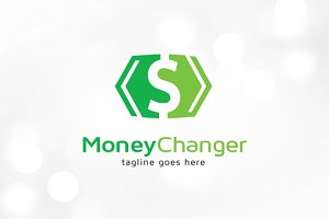 Money Changer Logo Template