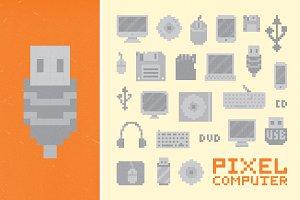 Pixel computer set