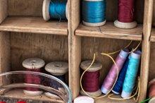 set for needlework beaded