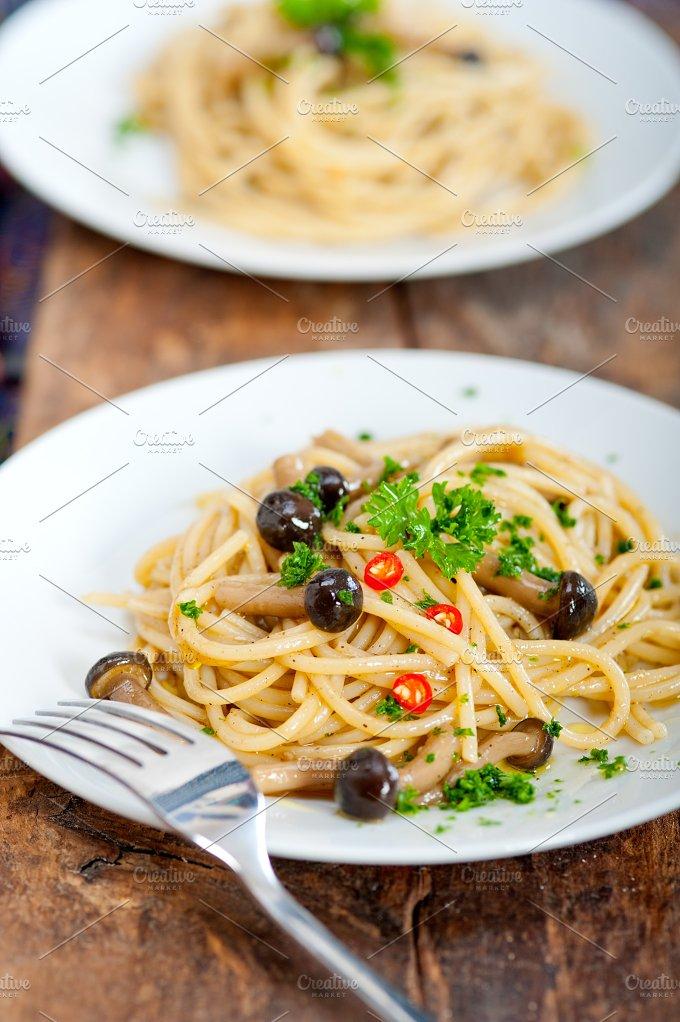 Italian pasta and mushrooms sauce 001.jpg - Food & Drink