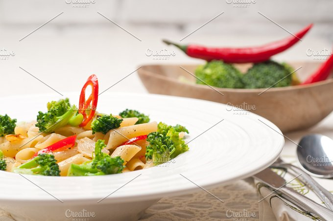 Italian penne pasta with broccoli 22.jpg - Food & Drink