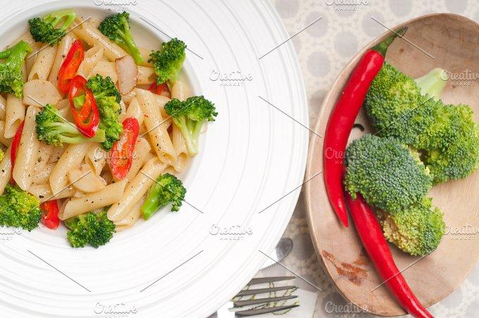 Italian penne pasta with broccoli 13.jpg - Food & Drink