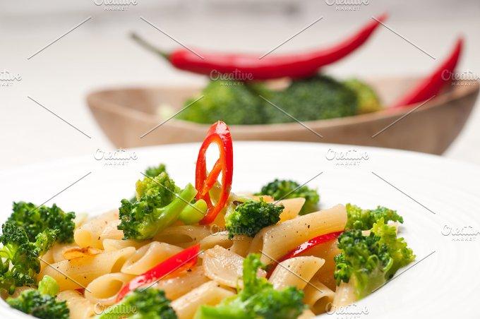 Italian penne pasta with broccoli 25.jpg - Food & Drink