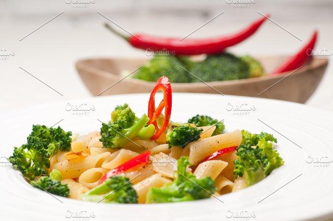 Italian penne pasta with broccoli 27.jpg - Food & Drink