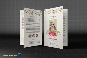 Funeral Program Template - FP03