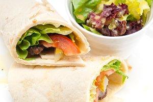 kafta chicken tomato lettuce pita wrap sandwich 05.jpg