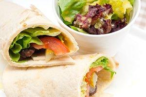 kafta chicken tomato lettuce pita wrap sandwich 06.jpg