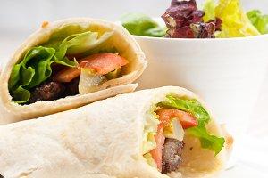 kafta chicken tomato lettuce pita wrap sandwich 11.jpg