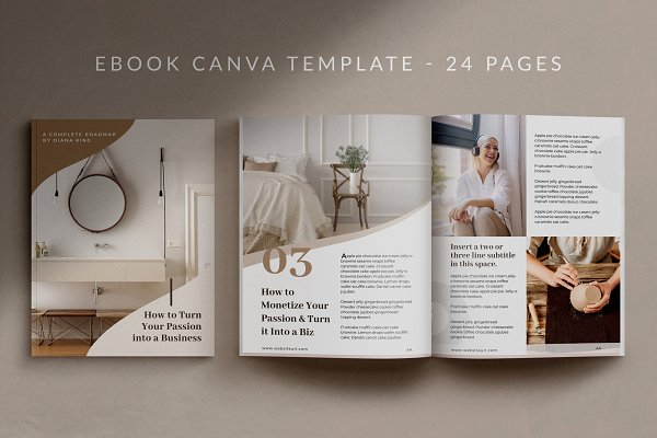 eBook Canva Template | Nordic