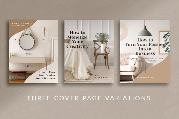 eBook Canva Template | Nordic in Magazine Templates - product preview 2