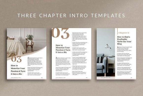 eBook Canva Template | Nordic in Magazine Templates - product preview 3