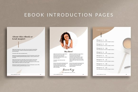 eBook Canva Template | Nordic in Magazine Templates - product preview 5
