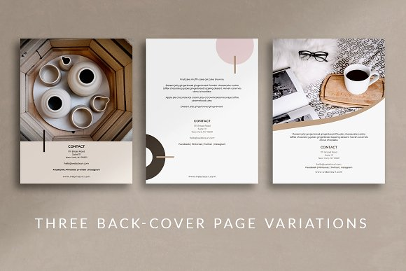 eBook Canva Template | Nordic in Magazine Templates - product preview 6