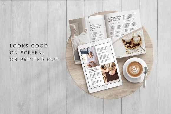 eBook Canva Template | Nordic in Magazine Templates - product preview 7