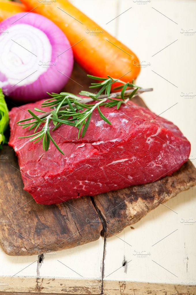 raw beef cut 001.jpg - Food & Drink