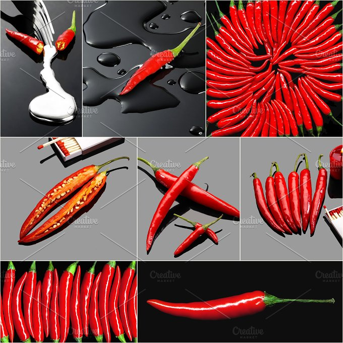 red hot chili collage 4.jpg - Food & Drink