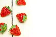 strawberries on white wood table F 011.jpg