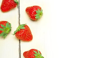 strawberries on white wood table F 011.jpg